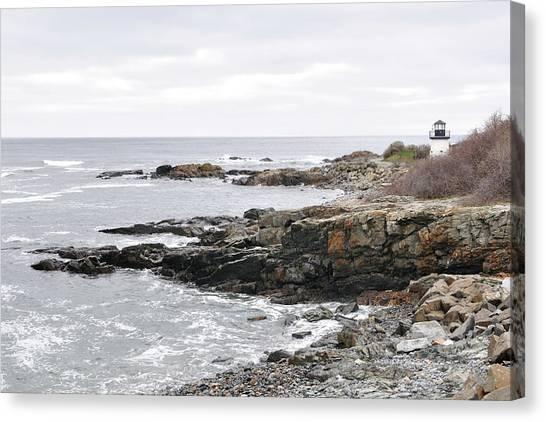 Lobster Point Lighthouse - Ogunquit Maine Canvas Print