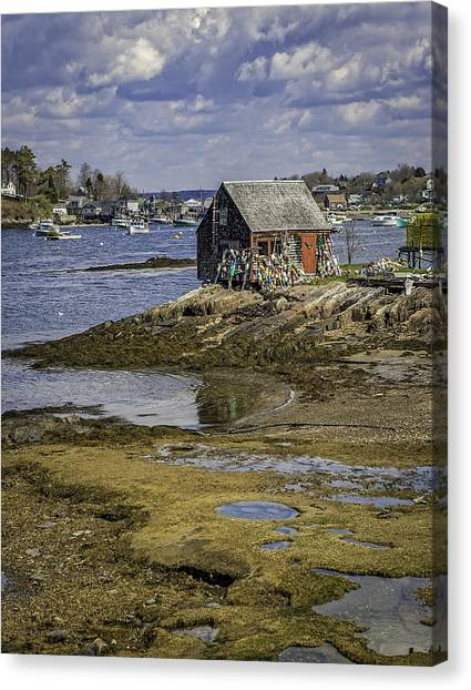 Lobster Shanty Canvas Print