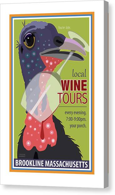 Local Wine Tours Canvas Print