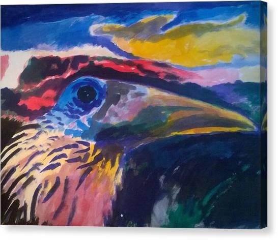 L'occhio Del Tucano Canvas Print
