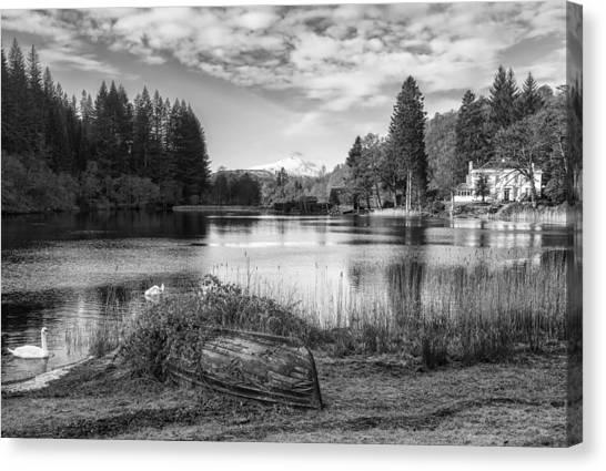 Loch Ard In Aberfoyle Canvas Print