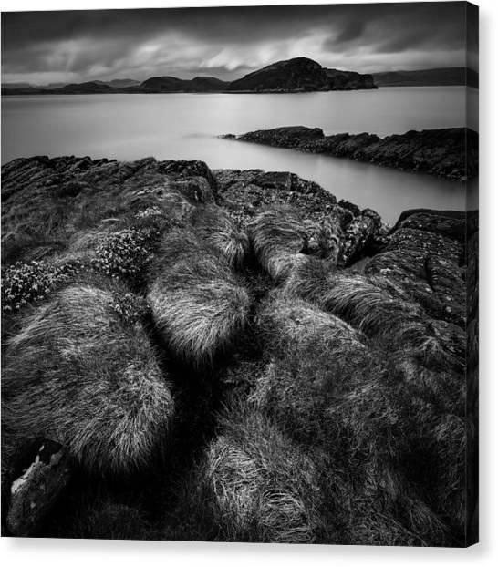 Ewe Canvas Print - Loch Ewe by Dave Bowman