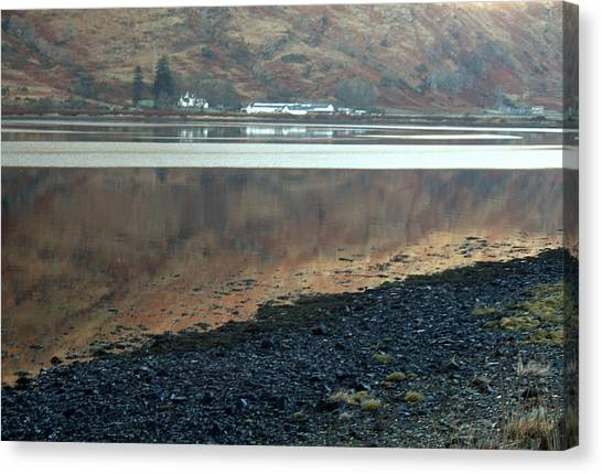 Loch Linnhe Reflection Canvas Print