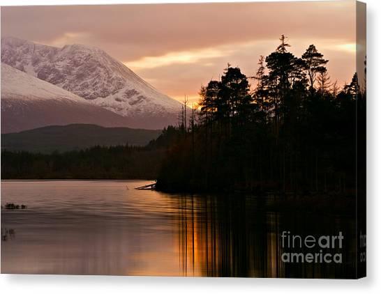 Loch Lochy Canvas Print by David Bleeker
