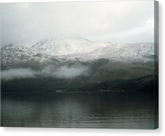 Loch Lomond, Winter Canvas Print