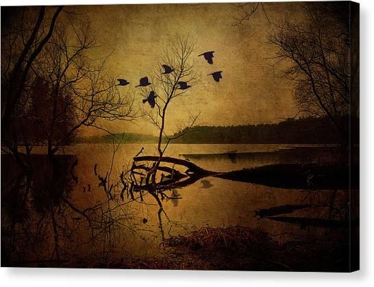 Ethereal Autumn Canvas Print