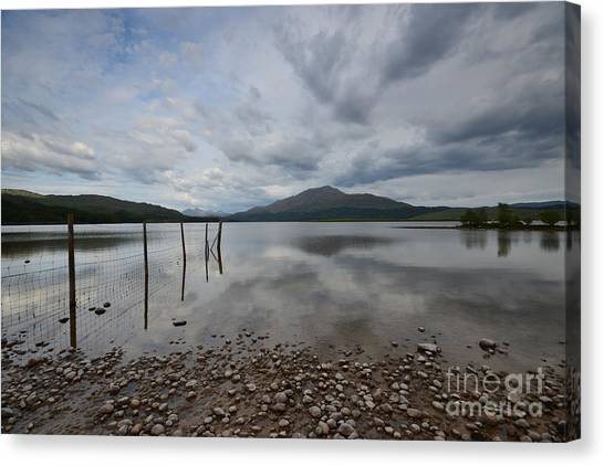 Scottish Highlands Canvas Print - Loch Shiel by Smart Aviation