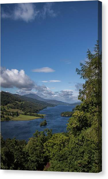 Canvas Print - Loch Tummel by Jo Jackson