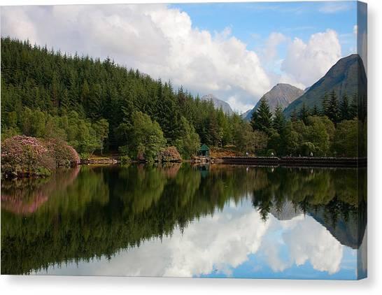 Lochan Glencoe Canvas Print