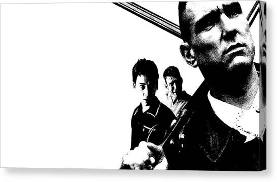 Trombones Canvas Print - Lock, Stock And Two Smoking Barrels by Maye Loeser