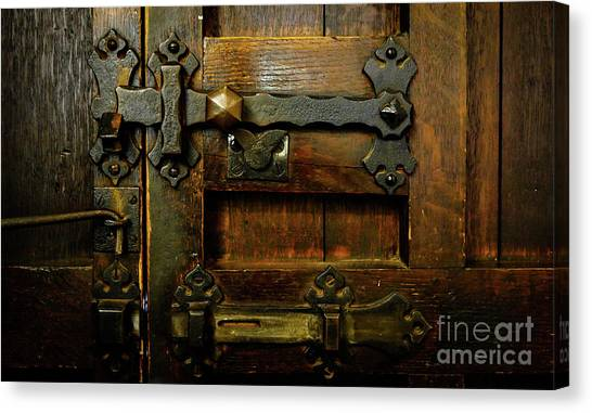 Locked And Bolted Canvas Print