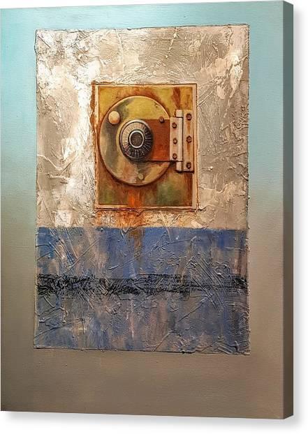 Locked Combination Canvas Print