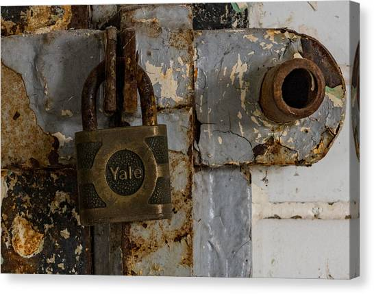 Locked Tight Canvas Print by Denise McKay