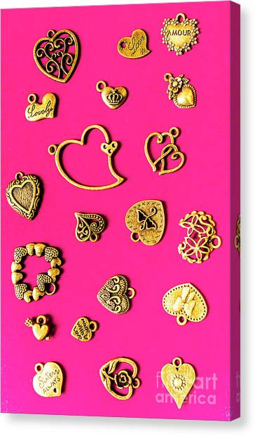 Pin-up Canvas Print - Locks Of Love by Jorgo Photography - Wall Art Gallery