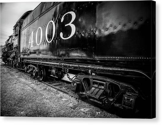 Locomotive Engine Canvas Print