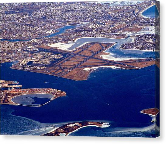 Logan Airport Canvas Print