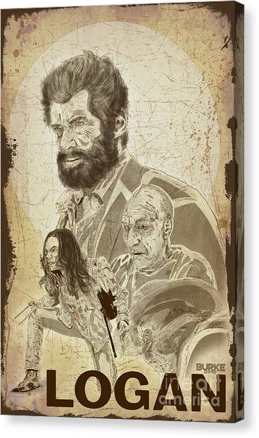 Logan Canvas Print by Joseph Burke