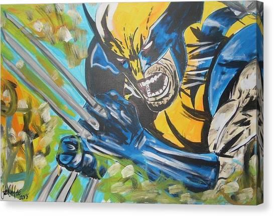 Logan Time Canvas Print