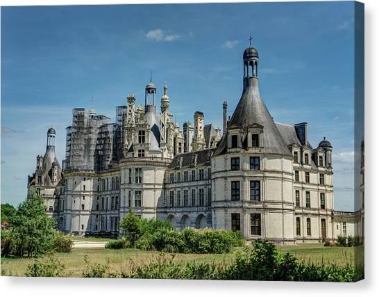 Chenonceau Castle Canvas Print - Loire Valley 1 by Janet Fikar
