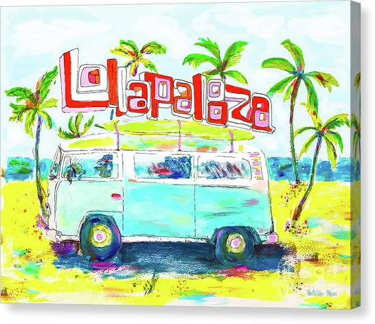 Lollapalooza Canvas Print
