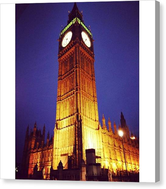 Lassos Canvas Print - #london #bigben #awesome by Stano Lasso
