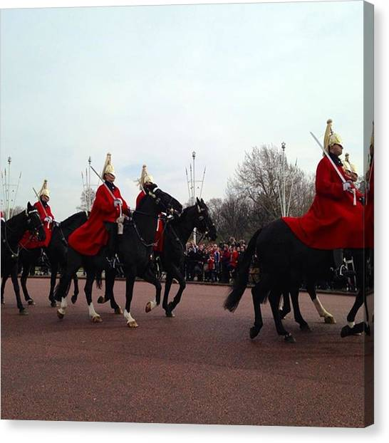 Royal Guard Canvas Print - London Calling by Mihaela Raluca