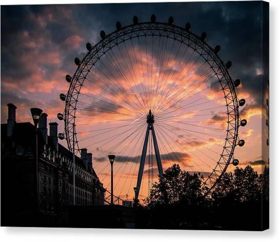 London Eye #1 Canvas Print