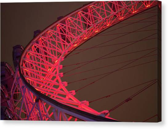 London Eye Canvas Print - London Eye by Alex Aves