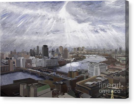 London Canvas Print by Gerold Kalter