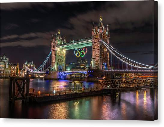 London Gold Canvas Print