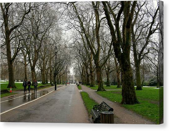 Hyde Park Canvas Print - London Hyde Park by Tony Brown