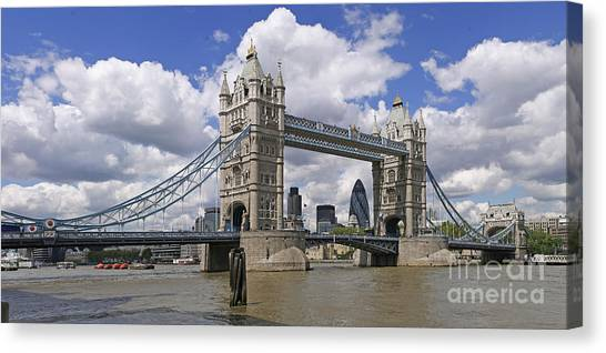 London Towerbridge Canvas Print