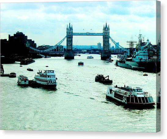 London Uk Canvas Print