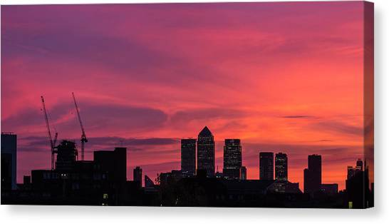 London Wakes 1 Canvas Print