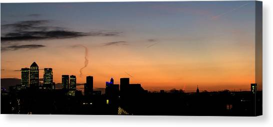 London Wakes 3 Canvas Print