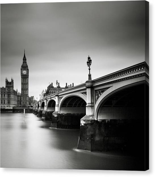 London Canvas Print - London Westminster by Nina Papiorek