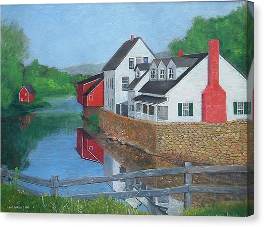 Londonderry Vermont Canvas Print