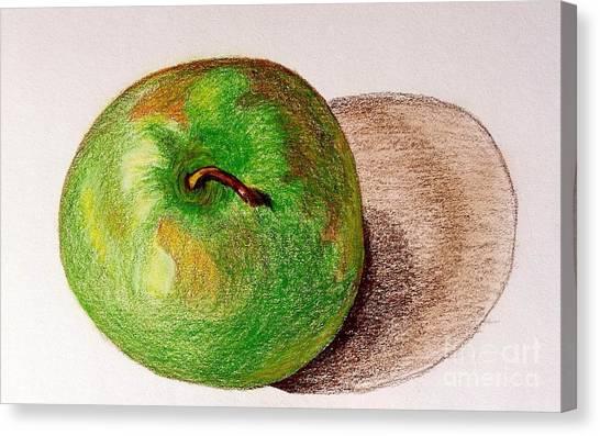 Lone Apple Canvas Print