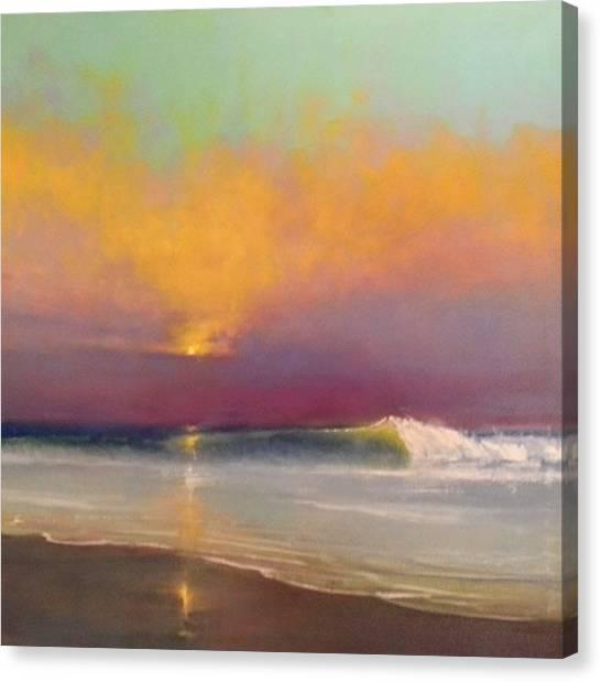 Lone Breaker Canvas Print