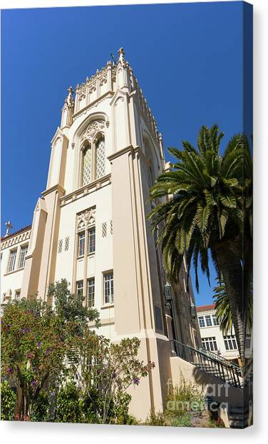 Bachelors Degree Canvas Print - Lone Mountain College University Of San Francisco Usf Dsc6383 by Wingsdomain Art and Photography