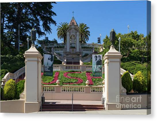 Bachelors Degree Canvas Print - Lone Mountain College University Of San Francisco Usf Dsc6389 by San Francisco Bay Area Art and Photography