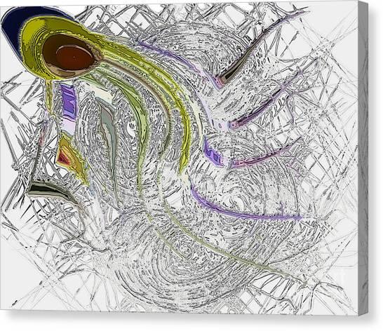 lone Sperm Canvas Print by Patrick Guidato