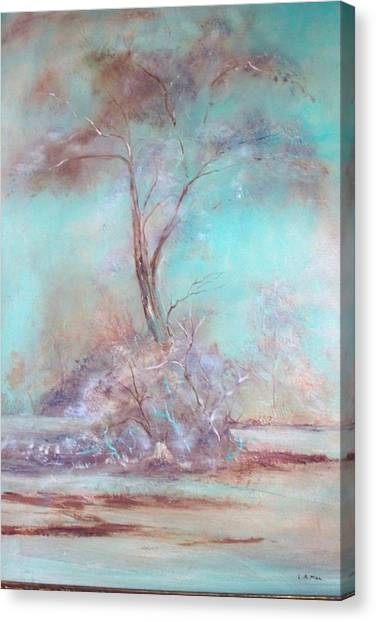 Lone Tree Canvas Print by Lynda McDonald