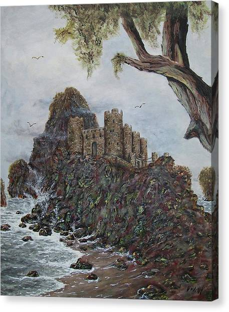Lonely Castle Canvas Print
