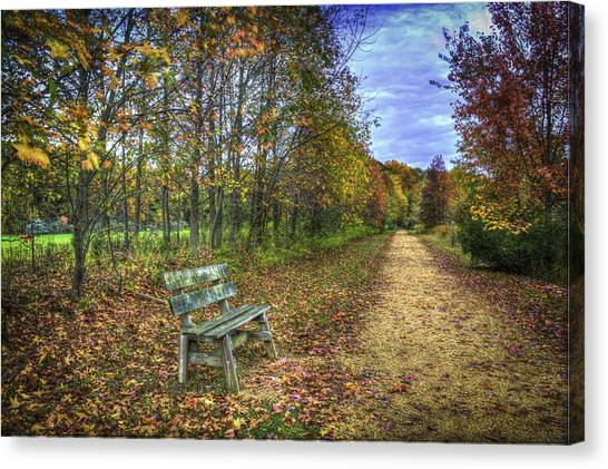 Lonely Chair Canvas Print