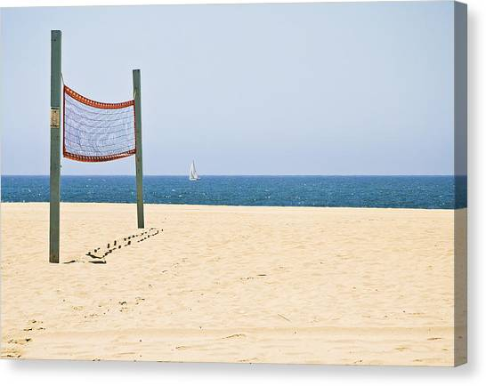 Lonely Net  Canvas Print