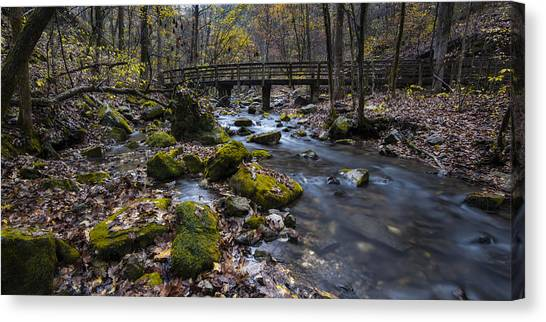Lonesome Bridge Canvas Print