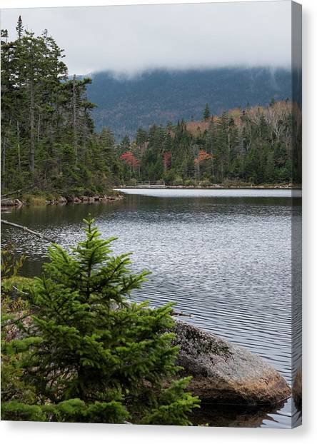 Lonesome Lake Canvas Print