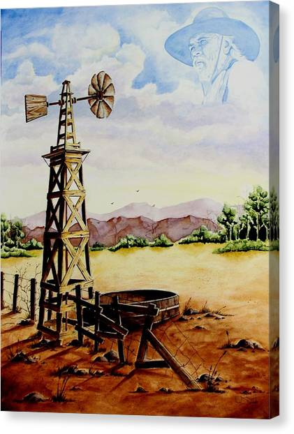 Lonesome Prairie Canvas Print
