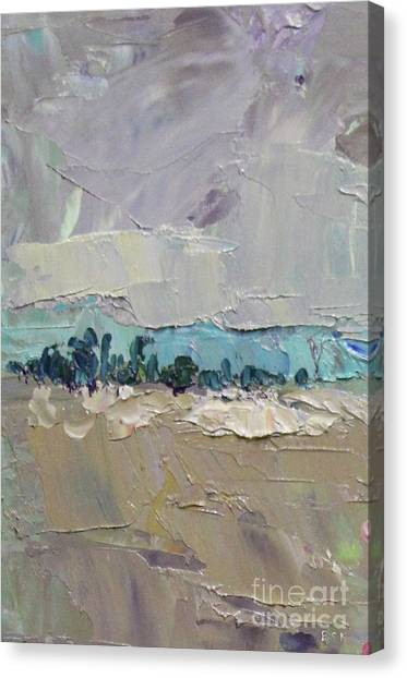 Canvas Print - Long Abstract 2018g by Becky Kim